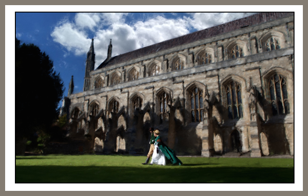 Winchester Cathedral - Digital Art from Kate Jackson