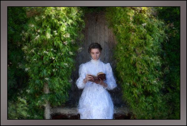 Edwardian Bench - Digital Art from Kate Jackson