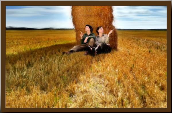 Land Girls - from Kate Jackson Art