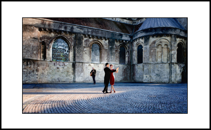 Dancing Butler - from Kate Jackson Art